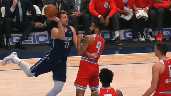 Luka contorts for circus and-1 bucket