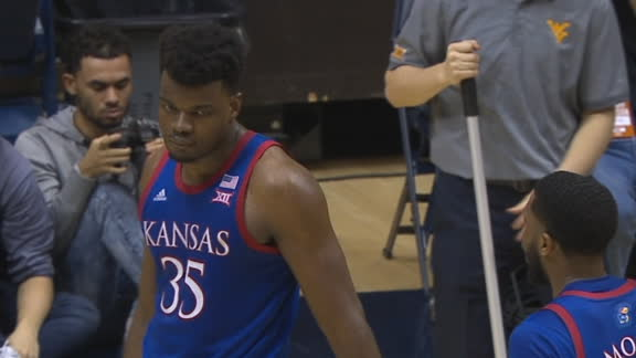 Azubuike gets clutch block late in the 2nd half