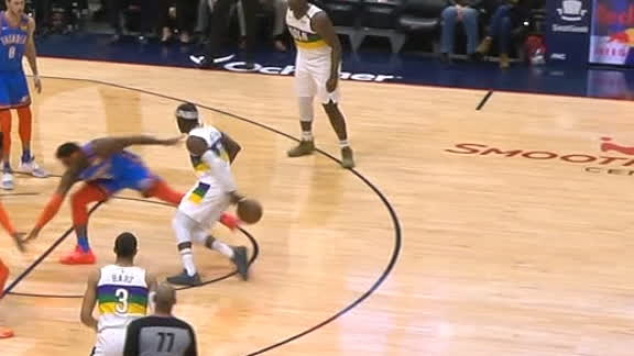 Holiday drops Dort, feeds Zion for lay-in