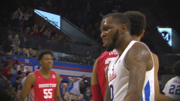 SMU's Jolly reaches back and throws down a monster slam