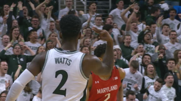 Watts knocks down big-time 3
