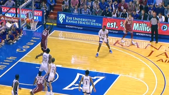 Oklahoma's Kuath gets up to finish alley-oop