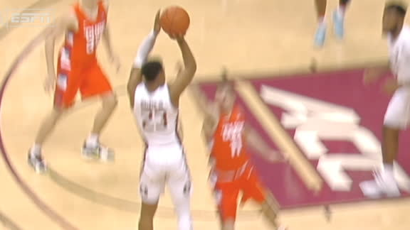 Walker completes 4-point play to put FSU ahead