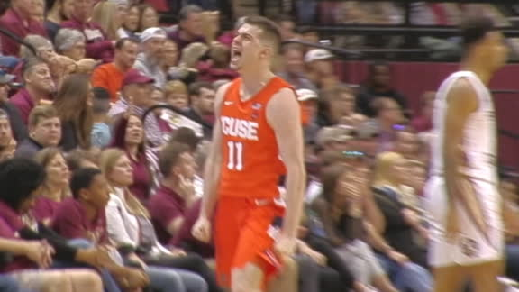 Girard III buries go-ahead 3 for Syracuse