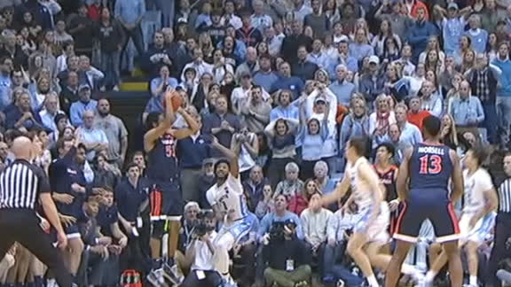 Woldetensae sinks game-winning 3 for UVA vs. UNC