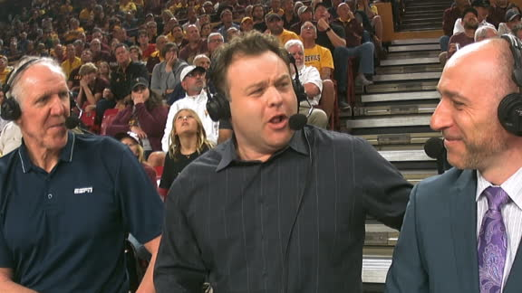 Frank Caliendo does his best Bill Walton impression