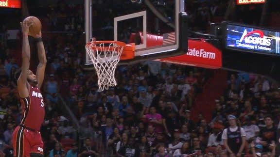 Jones enters 'Airplane Mode' on breakaway slam