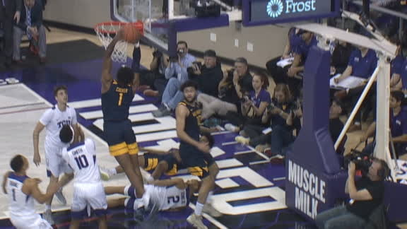 McBride's steal leads to Culver's dunk for WVU