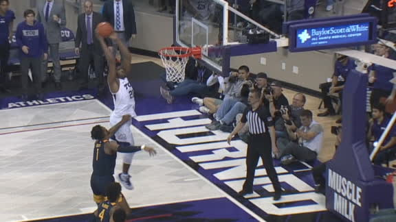 Grayer feeds Samuel late for clutch TCU bucket