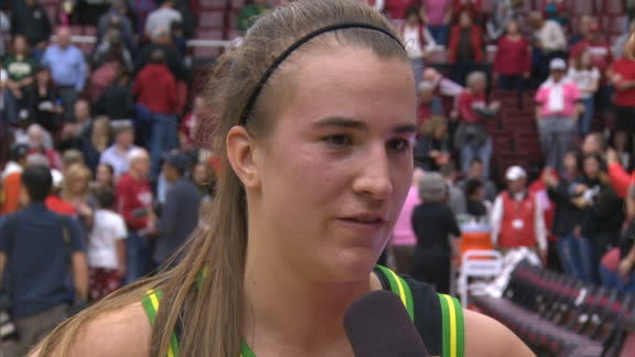 Ionescu: Getting to 1,000 rebounds was for Kobe