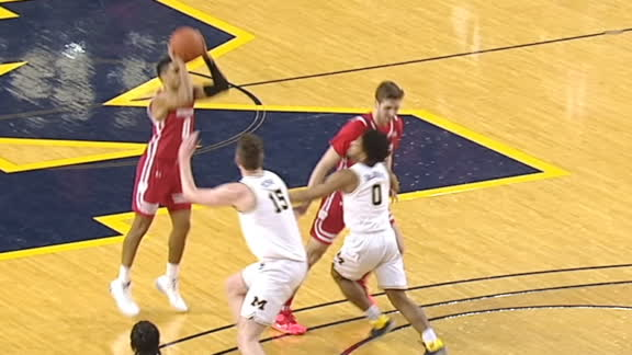 Trice makes Michigan pay on deep 3-pointer