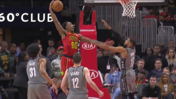 Teague's posterization attempt emphatically denied