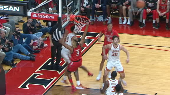Ramsey misses key slam for Texas Tech