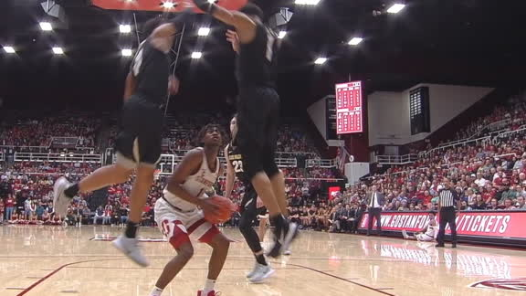 Stanford's Daejon Davis is too strong