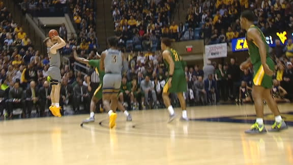 McNeil pads WVU's lead with a 3-pointer