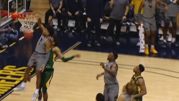 McBride throws it down with authority for WVU