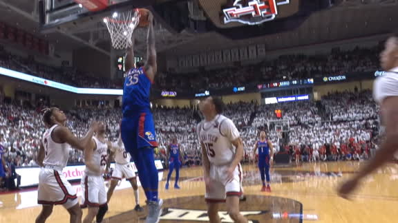 Azubuike flushes the two-handed slam
