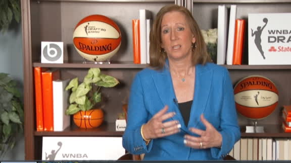 Commissioner Engelbert updates on the start of 2020 WNBA season