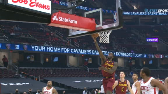 Cavs making moves on both ends of the floor