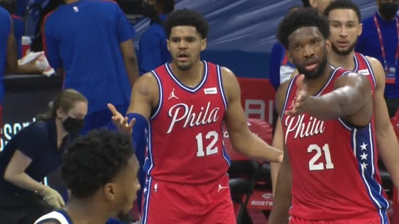 Embiid lobbies for Mitchell to get tech