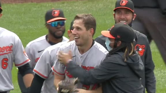 O's John Means completes no-hitter vs. Mariners