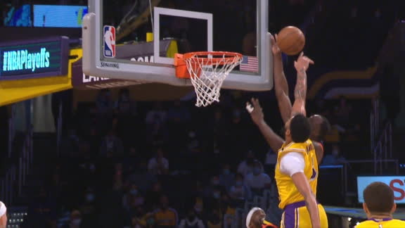 AD does it all with block then the and-1