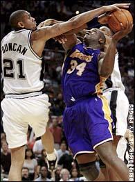 Lakers Vs Spurs Game Recap May 13 2003 Espn