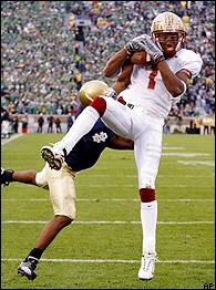 Florida State Vs Notre Dame Game Recap November 1 2003 Espn