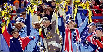Bobsled medalists