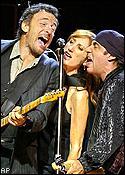 Bruce Springsteen, Patti Scialfa, Steve Van Zandt