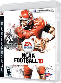 NCAA Football 10': Johnson nabs PS3 Cover