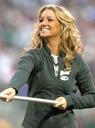 New York Jets cheerleader