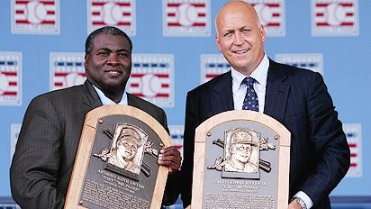 Tony Gwynn and Cal Ripken jr