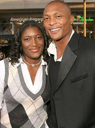 Eddie George and Tamara Johnson