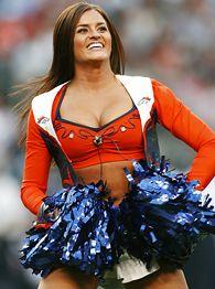 Broncos cheerleader