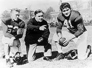 Harry Gilmer, Frank Thomas and Vaughn Mancha