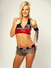 Leigh, Bucs cheerleader