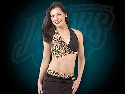 Liana, Jaguars cheerleader