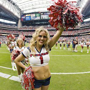 Houston Texan cheerleaders