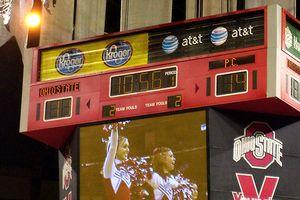 Presbyterian-Ohio State Scoreboard