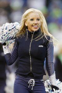 Seattle Seahawks cheerleader