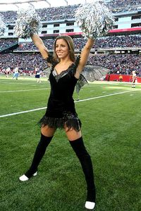 New England Patriots Cheerleader Alicia