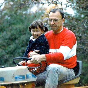 Mary Buckheit and father