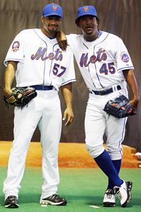 Johan Santana and Pedro Martinez