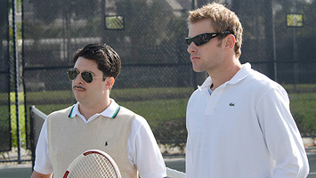 Todd Gallagher and Andy Roddick