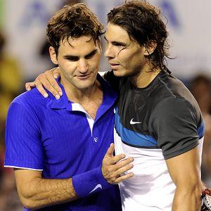 Nadal and Federer