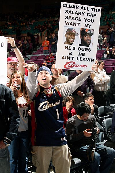 LeBron James fan