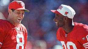 Steve Young and Jerry Rice