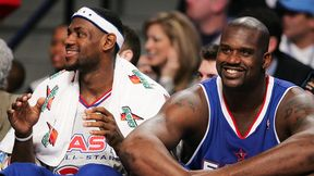 LeBron James and Shaquille O'Neal