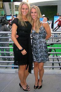 Heather Mitts & Leslie Osborne